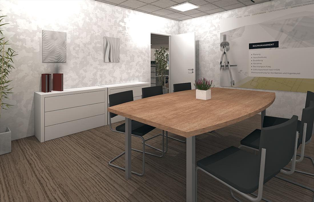 Das Team von Thomas Bohner Immobilien freut sich auf das neue Büro in Pforzheim